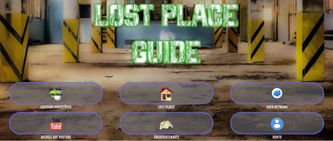Lost Place Guide App